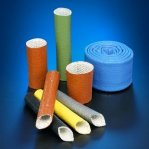 High Temperature Heat Flame Resistant Silicone Rubber Coated Fiberglass Firesleeve